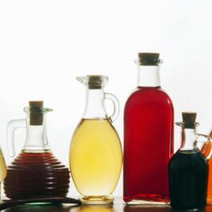 Oil, Vinegar, Cooking Wine